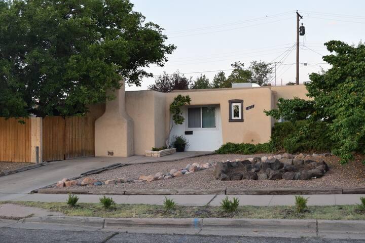 Conveniently located Pueblo style home