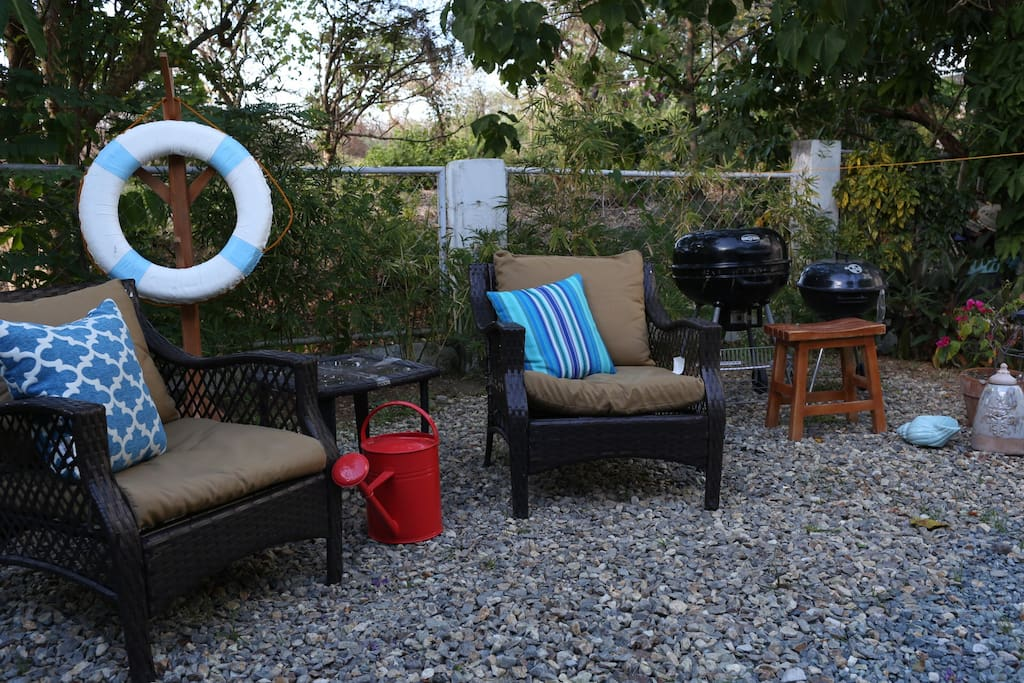 Outdoor grilling spot