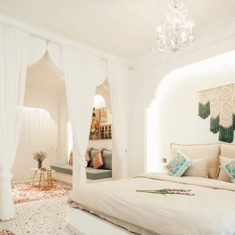 ABC HOUSE一位北京女孩在宜昌的家|摩洛哥风格|浴缸|华祥商圈|CBD|三峡大学|投影