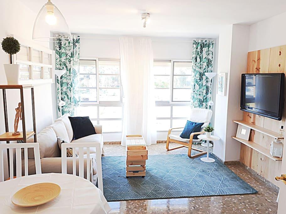 Luminoso apartamento en el centro wohnungen zur miete in m laga andalusien spanien - Apartamento en malaga centro ...