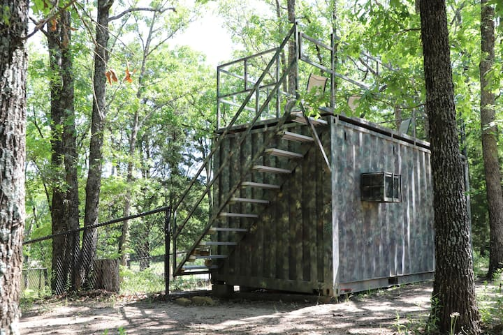 Converted Storage Container on 126 Lush Acres