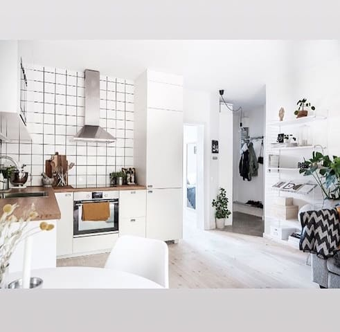 Two-room apartment, 17 min from Stockholm City!