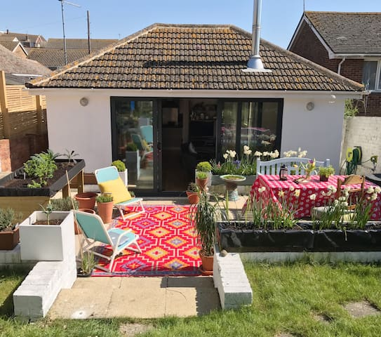 Stylish home close to the coast and South Downs - Saltdean - バンガロー