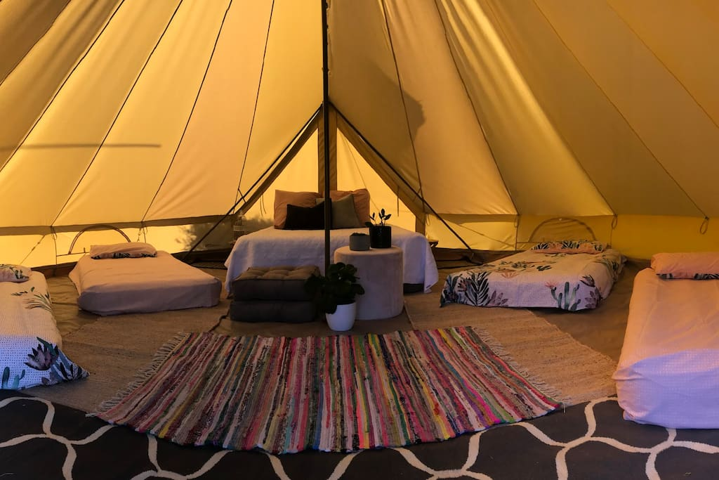 Evangeline bell tent - Sleeps up to 6 people