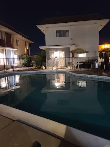 Private condo a block from Strip & LVCC w Pool 204