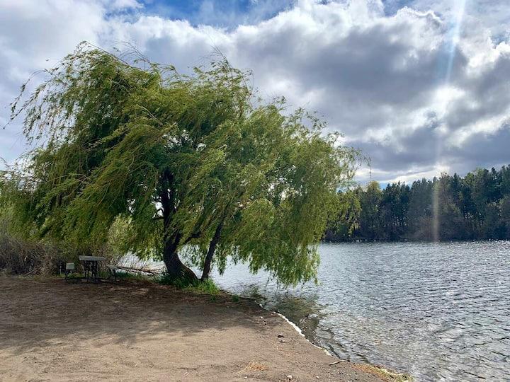 Grass Valley Lakeside Beach Campsite
