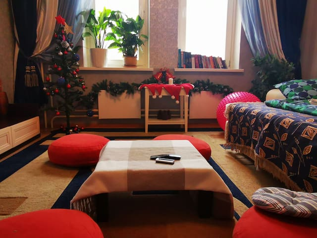 Cozy and quiet room near TV Tower and TV station
