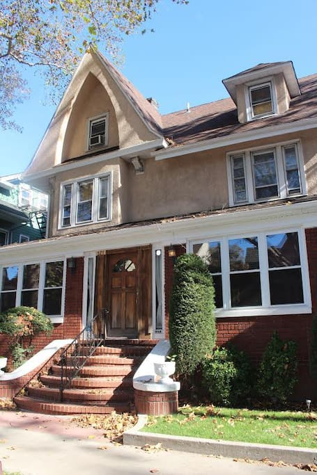 our beautiful home located in the heart of Ditmas park brooklyn.