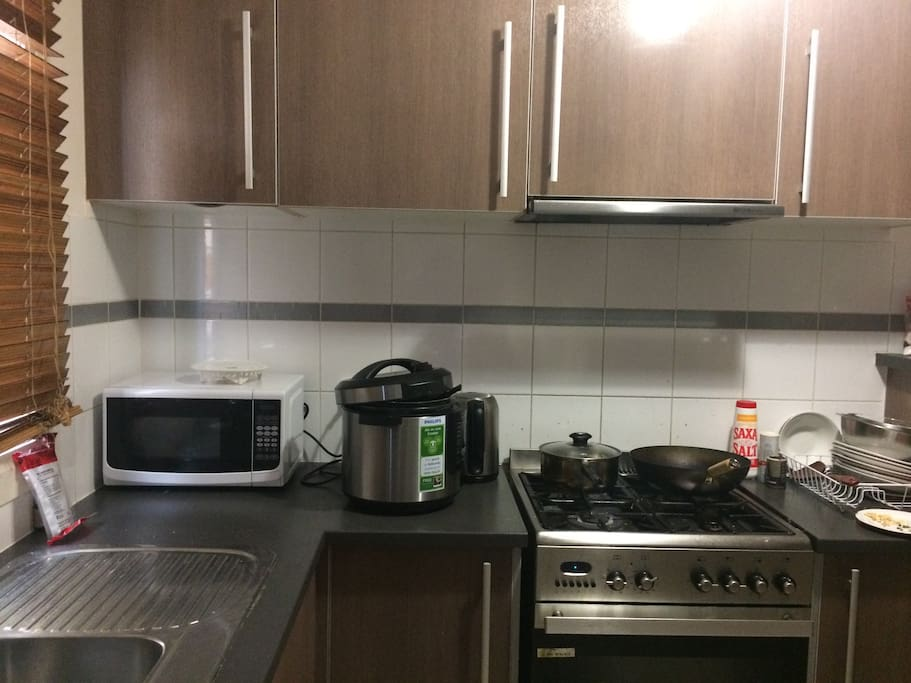 available cooking facilities