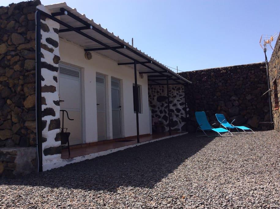 The terrace and solarium