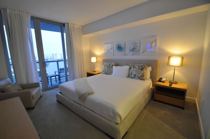 BeachWalk   1 Bedroom 1804-A  Living Rm/ Kitchen