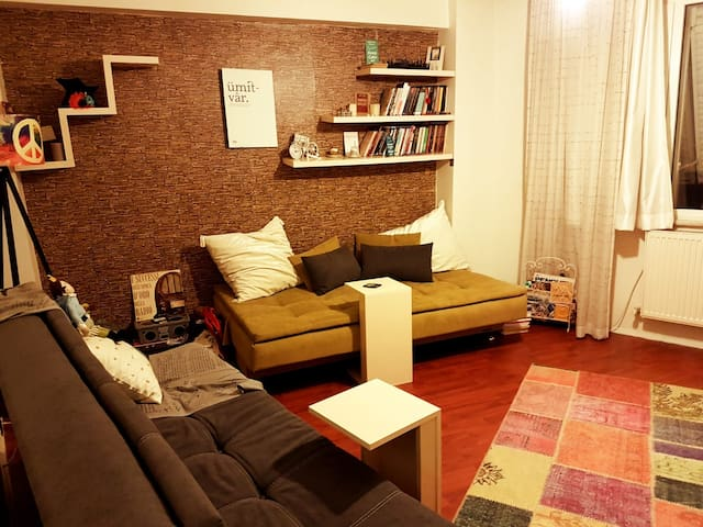 Modest and cosy apartment at the heart of the city