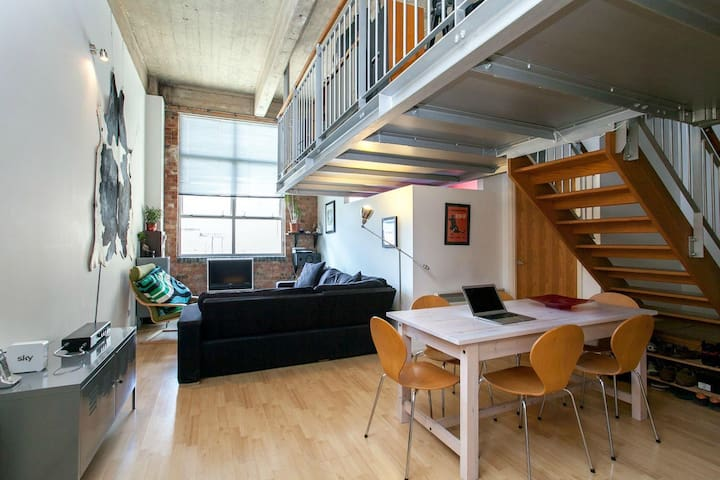 London Fields Warehouse Loft