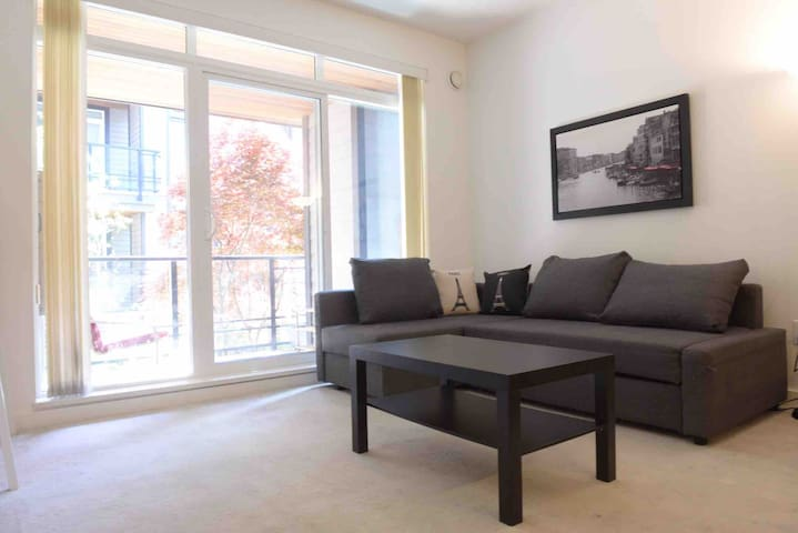 New Cozy 1 +1 Apartment in UBC Wesbrook Village