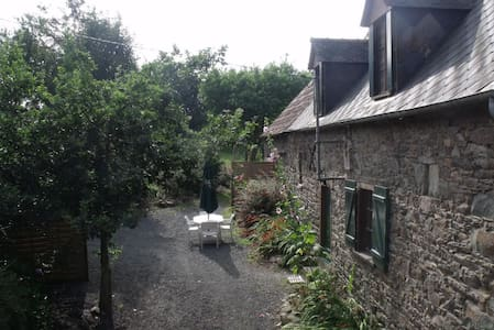 Maison bretonne à la campagne au calme