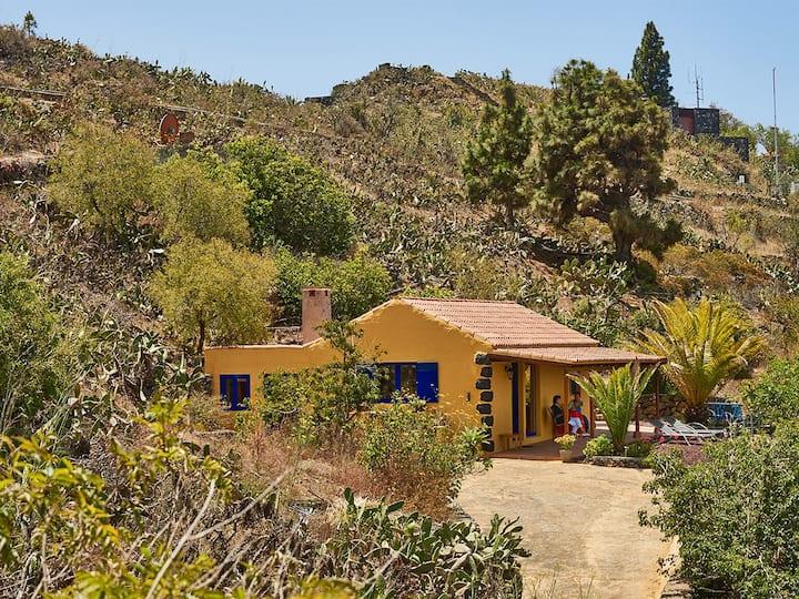 Casa Brava atemberaubender Ausblick an der Caldera