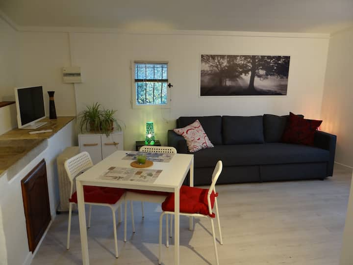 Nice studio in the heart of a village of Provence