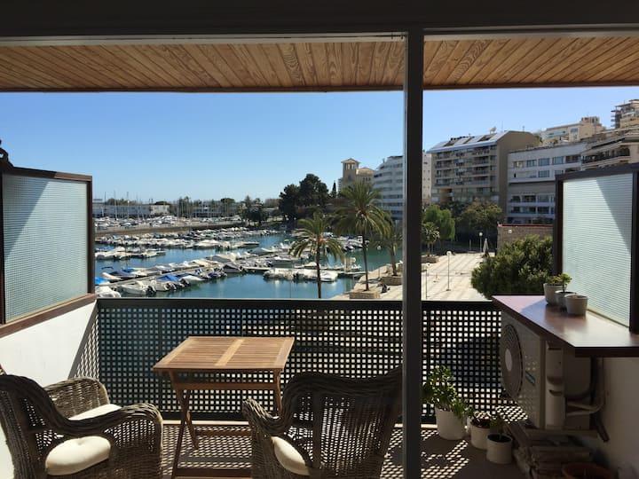 Estudio con vista al Puerto Palma
