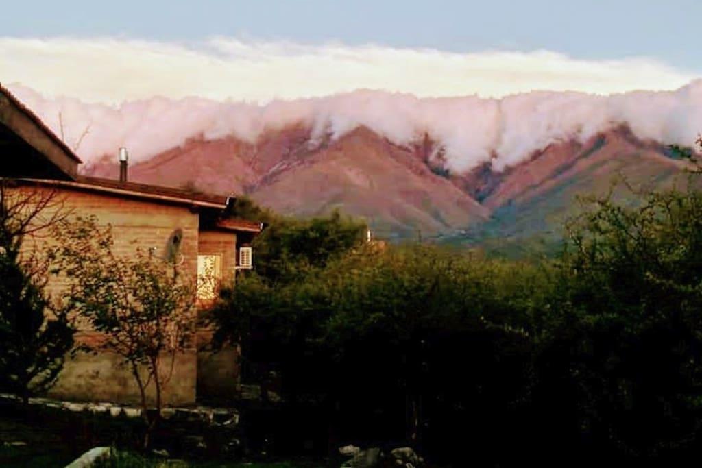 Cabaña Loft con una magica vista a las sierras
