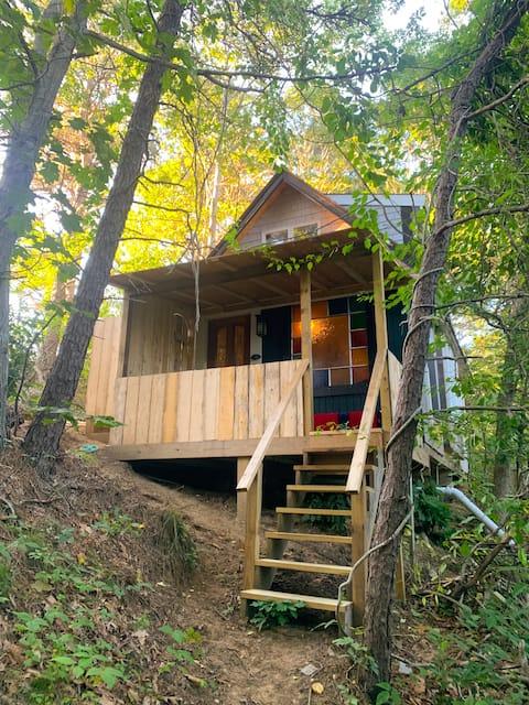 Writer's Cabin in Woods near Wellfleet Bay