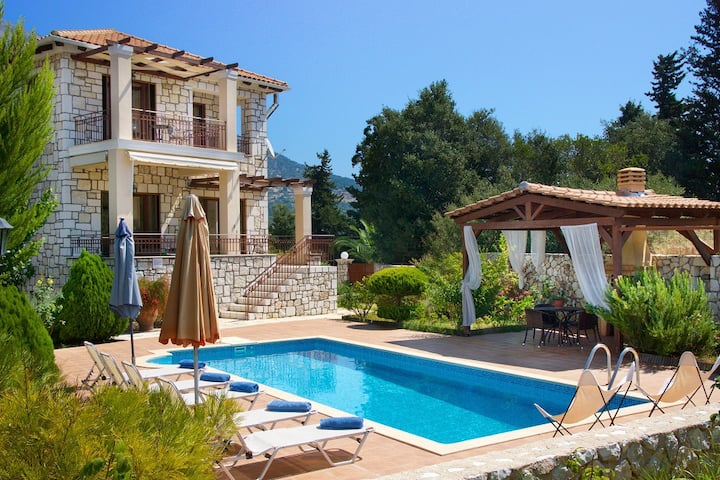 Villa Katerina nearby Agia Efimia, Private Pool