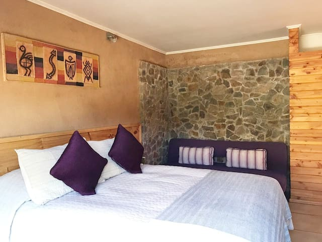 Comfortable & romantic double room!
