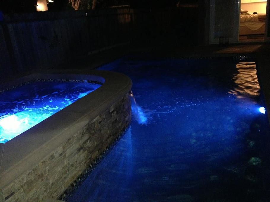 Jacuzzi, time to relax.