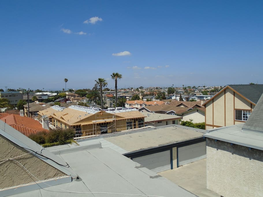View from 3rd Story Deck in Bedroom