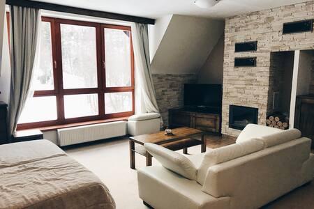 Rodinný apartmán s výhľadom na Lomnický štít - Vysoké Tatry