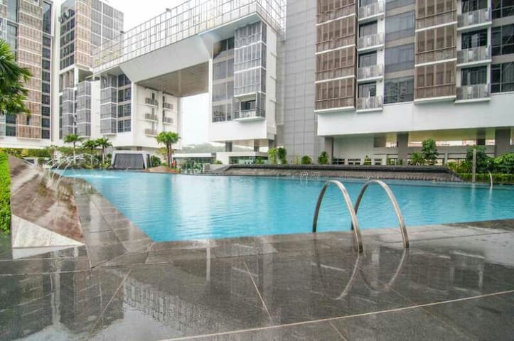 luxy condo soho loft 2bdr 4-7guests - Singapore - Appartement
