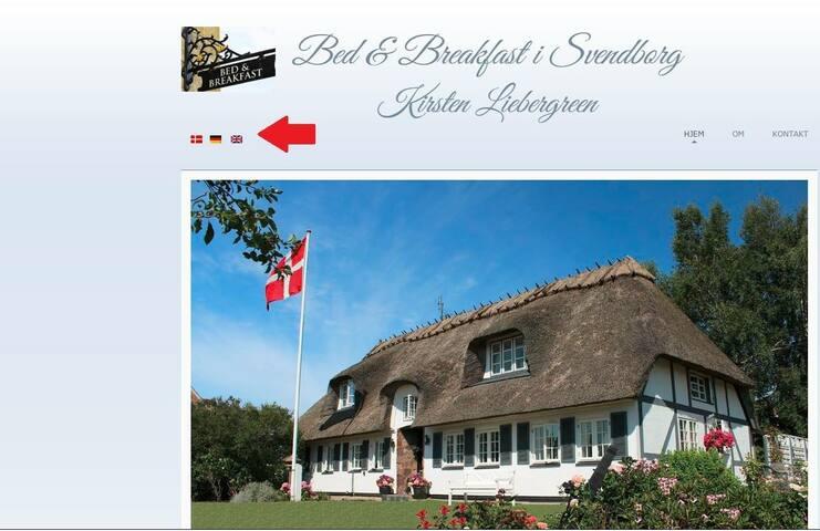 Hyggelig bindingsværkshus Svendborg - Svendborg - Bed & Breakfast