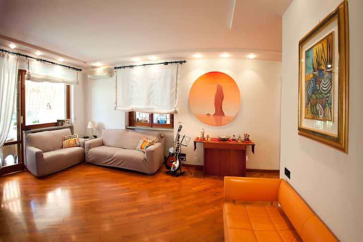 Villa Regina casa 120mq, 5 posti letto, posto auto