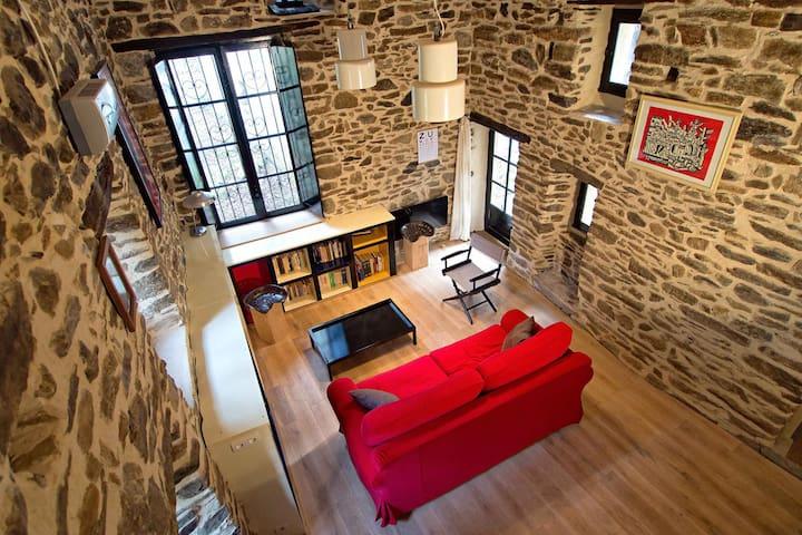 Le Mazet - loft de charme avec terrasse sur piloti - L'Estréchure - Nature lodge