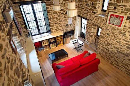 Le Mazet - loft de charme avec terrasse sur piloti - L'Estréchure