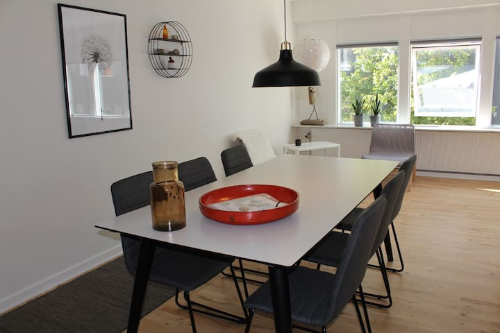 Down town apartment for 8 - Holstebro - Apartemen