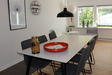 Down town apartment for 8 - Holstebro - Daire