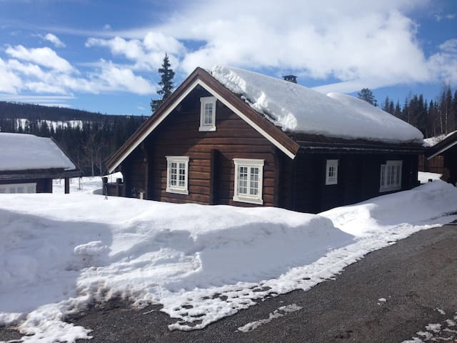 Valdres - Flott laftet hytte Vaset - Røn - Cabin
