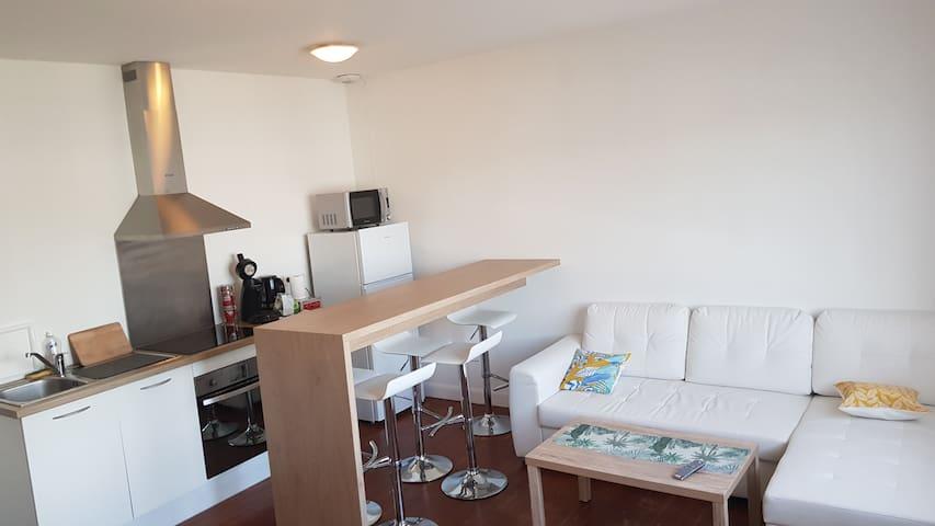 Magnifique appartement neuf en centre ville gare