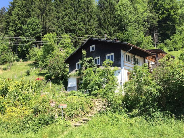 Gemütliche Ferienwohnung am Eistobel - Grünenbach - Appartement