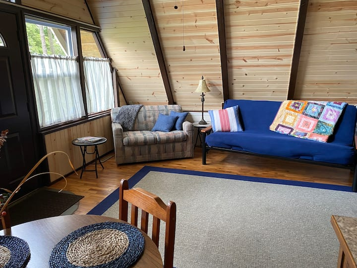 Forest Lawn A Frame Chalet Cabin by Lake Mitchell