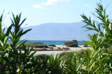 Glyfada apartment with sea view - Naxos - Apartment