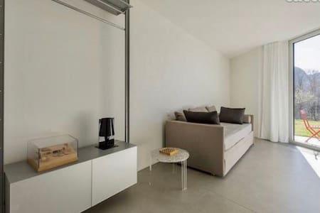 camera & doccia in loft design - Canobbio - 公寓
