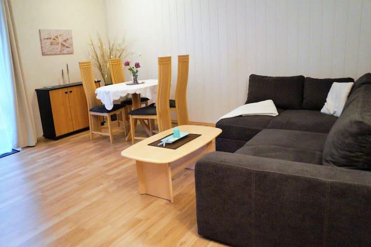 53qm FeWo, strandnah, Terrasse - Schwedeneck - Квартира
