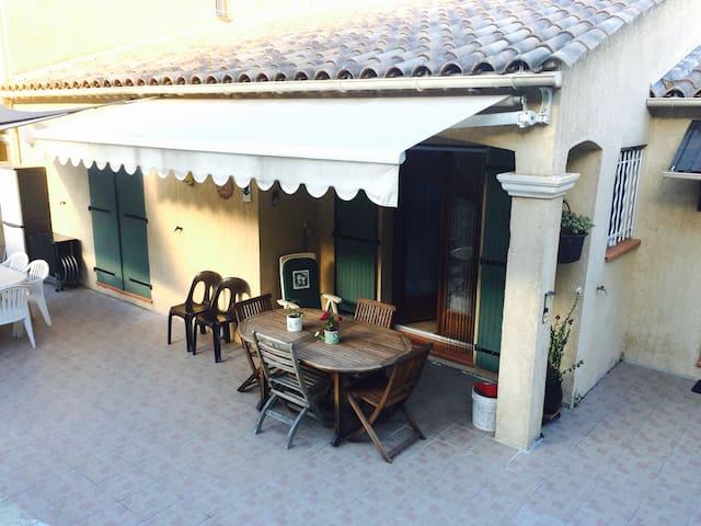 Maison proche Menton - Sainte Agnès - Sainte Agnès - Casa