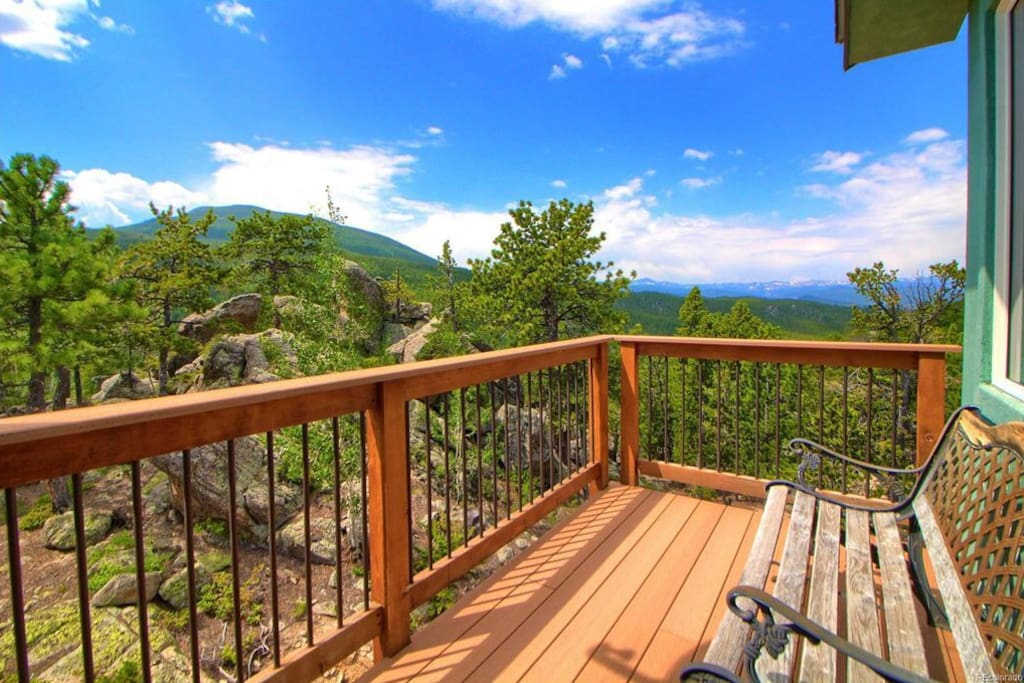 Spectacular views! 2 private balconies on third floor