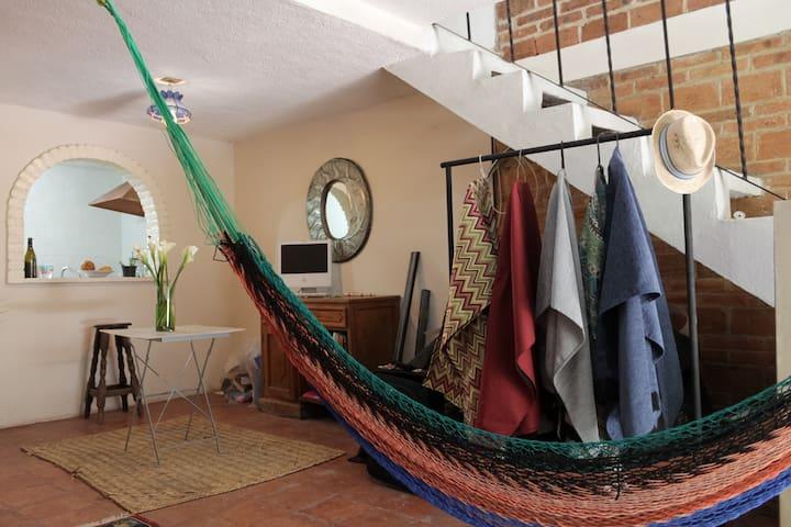 Lindo Boho-Loft, refleja San Miguel de Allende - San Miguel de Allende - Apartment