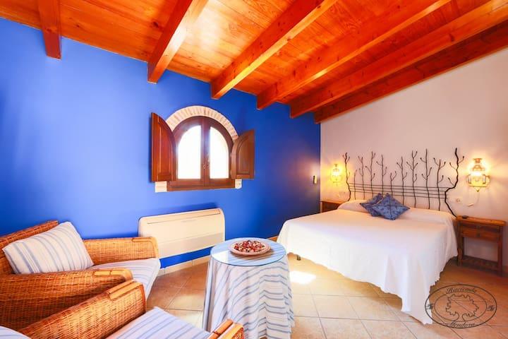 Habitacion Doble con cama de matrimonio