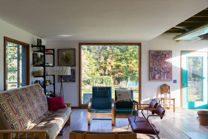 Spacious contemporary home with beautiful views - Middleburgh - Ev