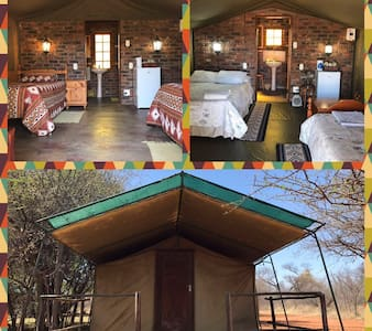 Nantes Tent Camp Bushveld farm.