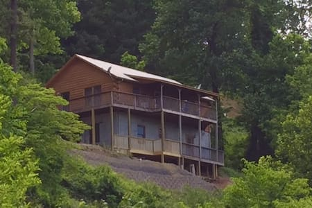 Log Cabin in Greater Asheville Area  Amazing View - Canton - Srub